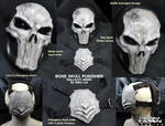 Bone Skull Punisher Details by Uratz-Studios