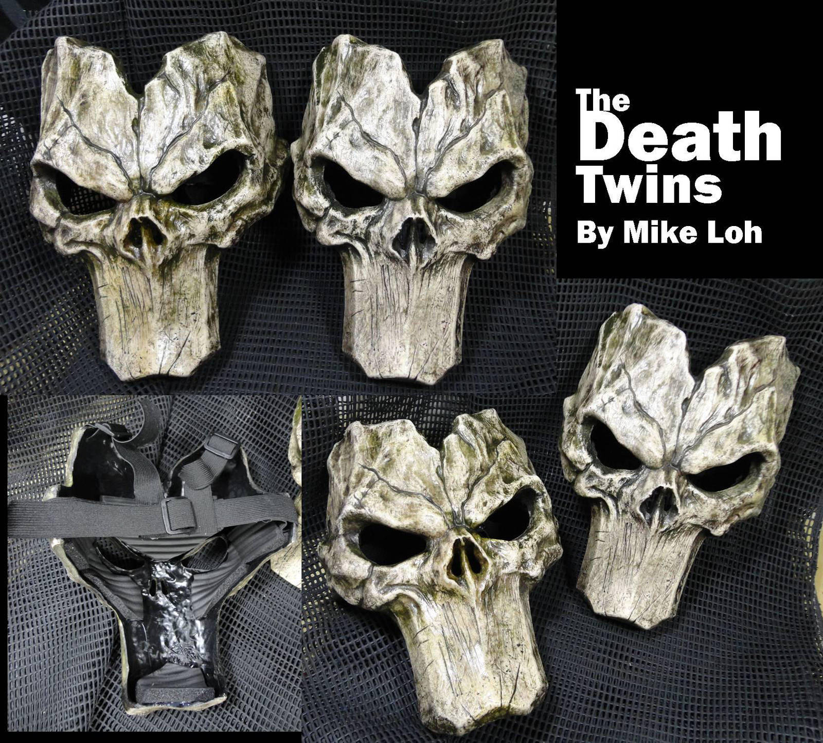 Twin death masks by uratz studios on deviantart - Uratz studios ...