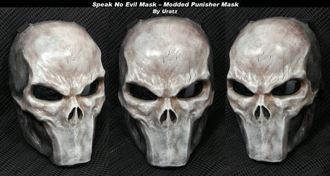 Silent Mouth Punisher Mask by Uratz-Studios