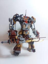 LEGO - Steampunk Mech by BurningAshDragon