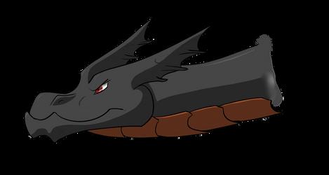 Underbite Dragon by BurningAshDragon