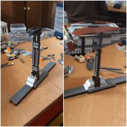 LEGO - Dragonfly Mech - Stand update by BurningAshDragon