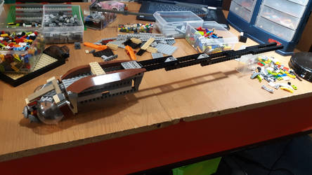 LEGO - Dragonfly Mech - Body update by BurningAshDragon