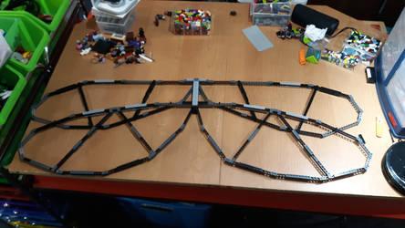 LEGO - Dragonfly Mech - Wing update 2 by BurningAshDragon