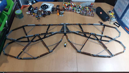 LEGO - Dragonfly Mech - Wing update 3 by BurningAshDragon