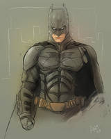 Dark Knight Batman by antmanx68