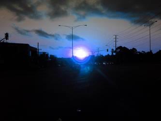 Blue Dusk by Croyante