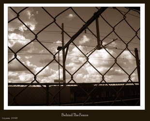 Behind The Fence II by Croyante