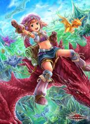 Minerva Knights - Dragon Rider EX by El-Seluvia