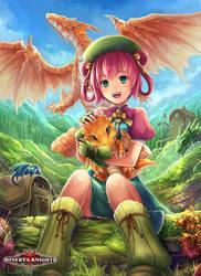Minerva Knights - Dragon Rider by El-Seluvia