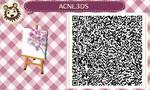 cherry blossom QR code acnl by Terfiann