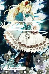 Alice in wonderland by Terfiann