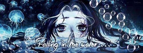 Falling in the water by Terfiann