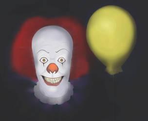 IT the clown by cerebrodim