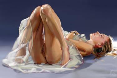Study 74 Nude by NotDoneBaking