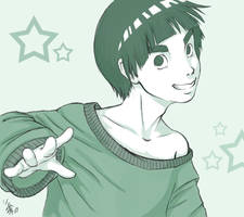 RockLee again by nocturnalMoTH