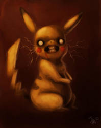 sickachu by nocturnalMoTH