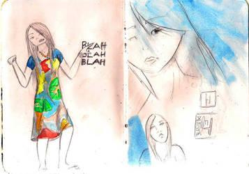 Blah Blah Blah by Pinweasel