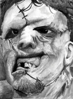 Leatherface by robotatomico by Horror-Forever