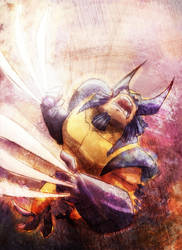 Wolverine Furia by marespro13