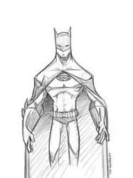 Batman Sketch by marespro13
