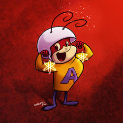 Atom Ant - Hormiga Atomica Marespro13 by marespro13