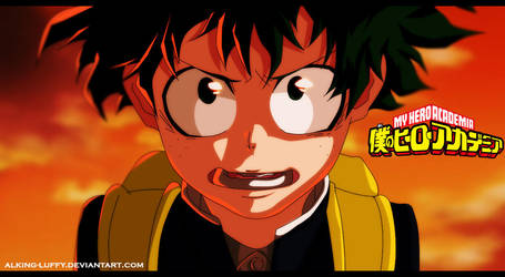 Deku Coloring by Alking-Luffy by Alking-Luffy
