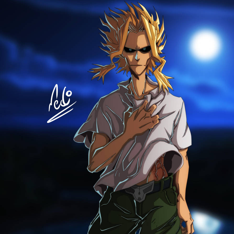 All Might Dr by Alking-Luffy