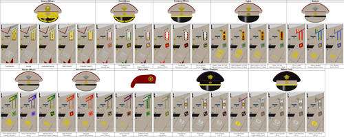 m13 Insignia, Dress, Service Class A, Army by Tounushi