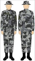 Battlefield 2142 European Union digital pattern by Tounushi