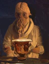 Ood to a Grecian Urn by DigitalisVitae