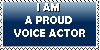 Proud voice actor stamp by KawaiiSteffu