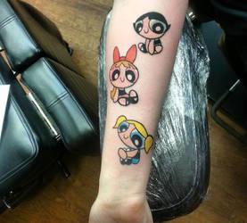 Powerpuff Girls tattoo(...s) by KawaiiSteffu