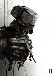 Robot-Wreck / Benoit Godde Concept Artist by Benoit-Godde