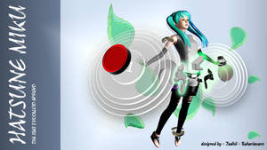 The Sims 3 Vocaloid Append - Hatsune Miku by fadhilyudho
