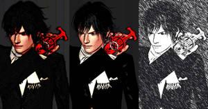 Tendou Souji Sims 3 - 3 pics by fadhilyudho