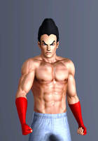 Kazuya Mishima Sims 3 by fadhilyudho