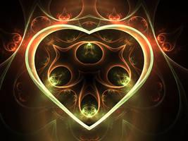 My Shining Heart by mfcreative
