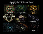 Apophysis 3D Flame Pack by mfcreative