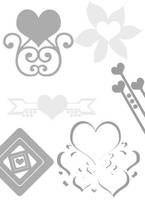 Valentine Brushes Pack 2 by mfcreative