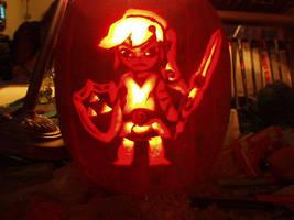 Link pumpkin by Nywoe