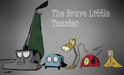 The brave little toaster Tim Burton style by LadyFuzzChild