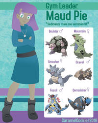 My Little Gym Leader - Maud Pie by CaramelCookie