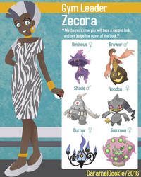 My Little Gym Leader - Zecora by CaramelCookie