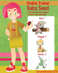 My Little Rookie Pokemon Trainer - Babs Seed by CaramelCookie