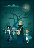Alice in Wonderland by Coolgraphic