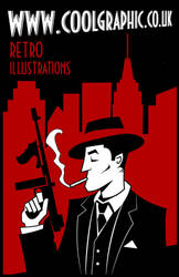 Philip Marlowe Gangster Style by Coolgraphic