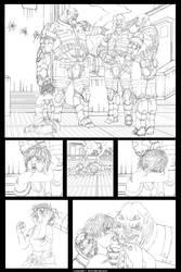 Survivor page01 by Ullervoinen