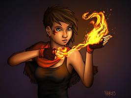 Pyromancer by acnero