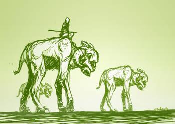 Herd by acnero